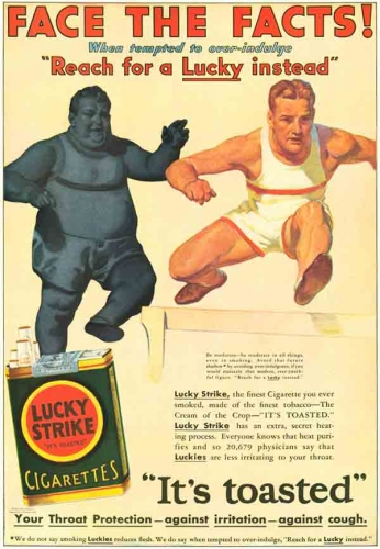 Lucky Strike - Face the Facts - 1930