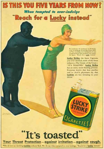 Lucky Strike - Five Years - 1930