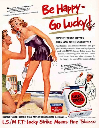 Lucky Strike - Sailor Advice (1943)