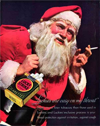 Lucky Strike - Santa Claus - 1952