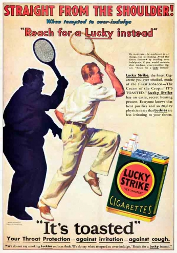 Lucky Strike - Straight - 1930
