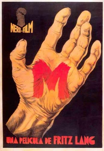 Filme: M (M - O Vampiro de Dusseldorf, 1931). Direção: Fritz Lang. Elenco: Peter Lorre, Ellen Widmann, Inge Landgut.
