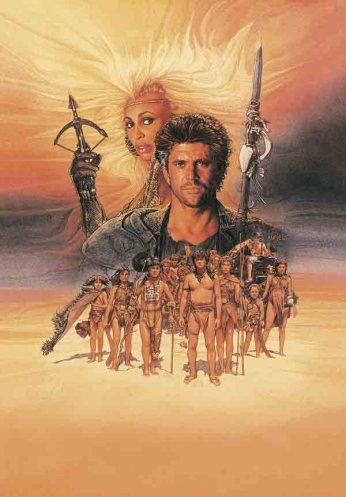 Mad Max - Beyond Thunderdome - Art Poster
