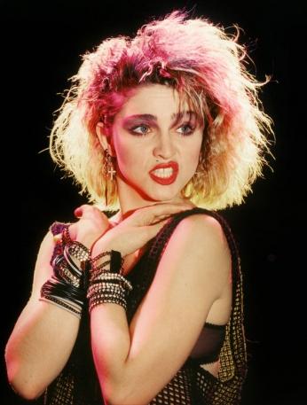 Madonna - Portrait - 1983