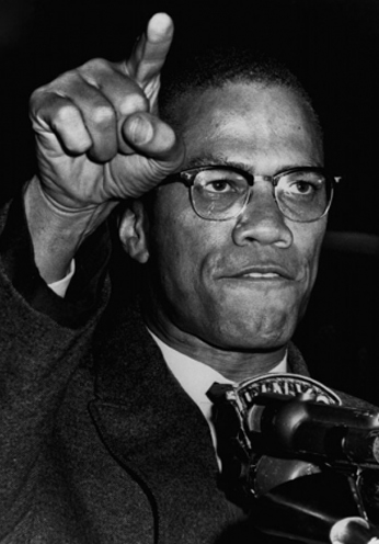 Malcolm X - Civil Rights March - 1964