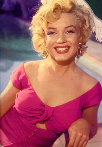 Marilyn Monroe - Portrait Color