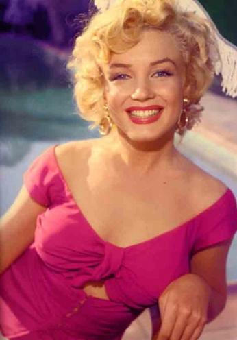 Marilyn Monroe - Portrait Color