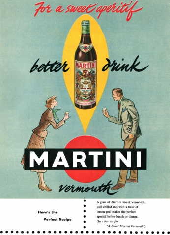 Martini Vermouth - 1959