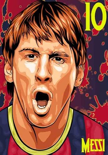 Messi - Vector