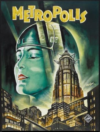Metropolis - Art Poster