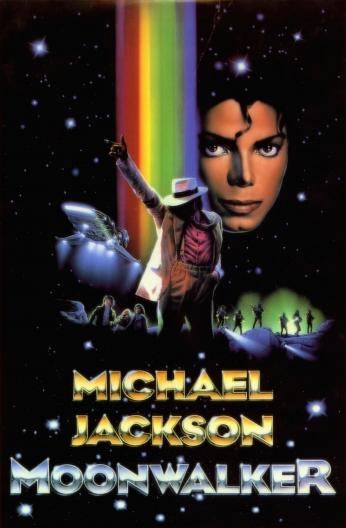 Michael Jackson Moonwalker Poster