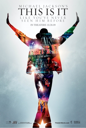 Poster Michael Jackson This Is It Movie.
