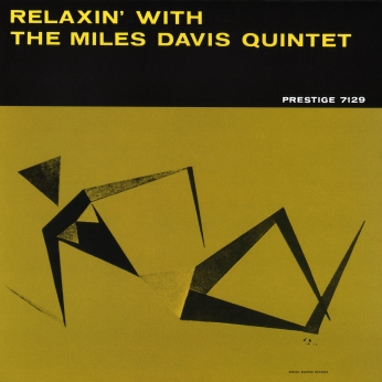 Miles-Davis Relaxin With Quintet 1958 cover.