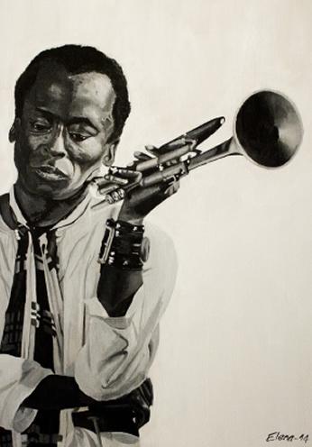 Miles Davis Su Legno.