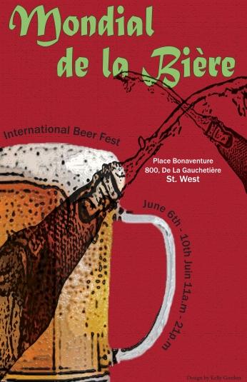 Poster Mondial de la Biere.