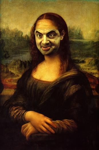 Mr. Bean Face Swap Mona.