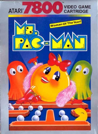 Ms. Pac-Man Atari 7800 - Woman of the Year