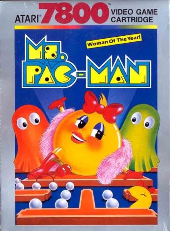 Ms. Pac-Man Atari 7800 - Woman of the Year