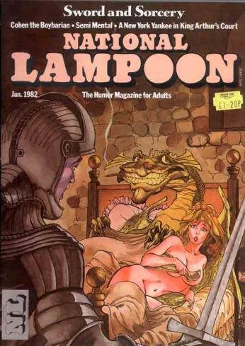 National Lampoon - January 1982