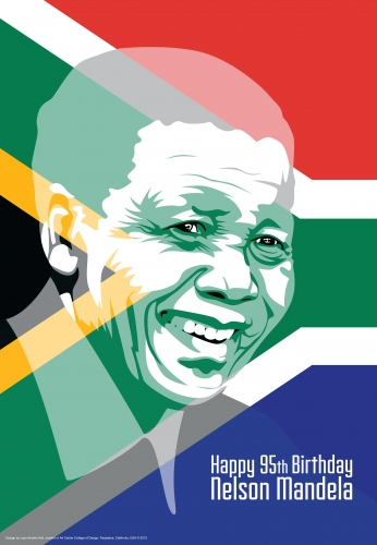 Nelson Mandela Happy Birthday 95th.
