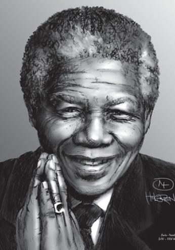 Nelson Mandela Plakater.