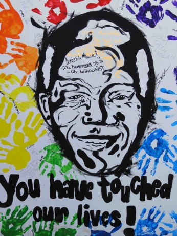 Nelson Mandela You Have Touched Our Lives.