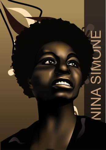 Nina Simone Art Poster.