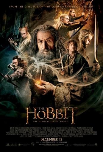 O Hobbit A Desolacao de Smaug Cartaz