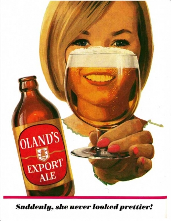 Olands - Export Ale - 1966