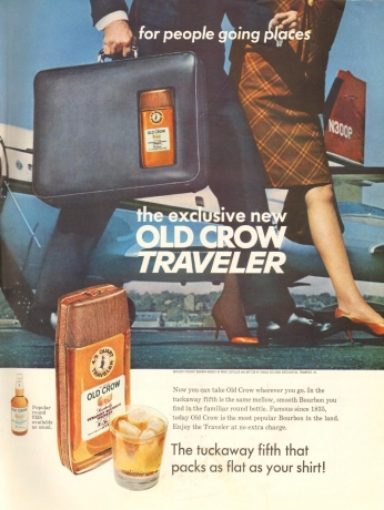 Poster Old Crow Traveler, March 17 1967.