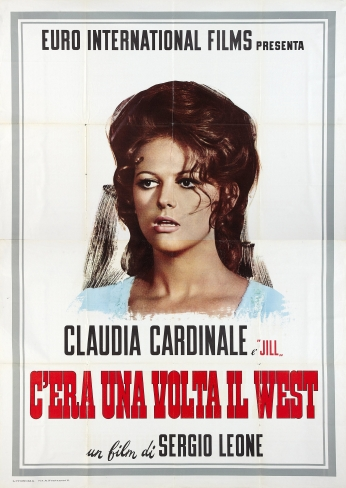 Once Upon a Time in the West Claudia Cardinale Close