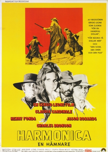 Poster Once Upon a Time in the West Movie Trailer.