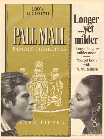 Pall Mall - September 1971