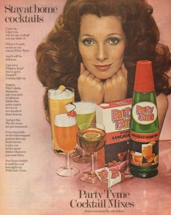 Party Tyme Cocktail Mixes, April 1972