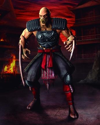 Personagem Baraka Mortal Kombat