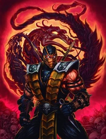 Personagem Scorpion Mortal Kombat