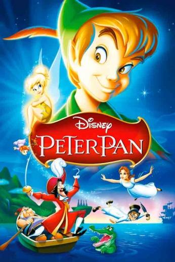 Peter Pan - Art Poster