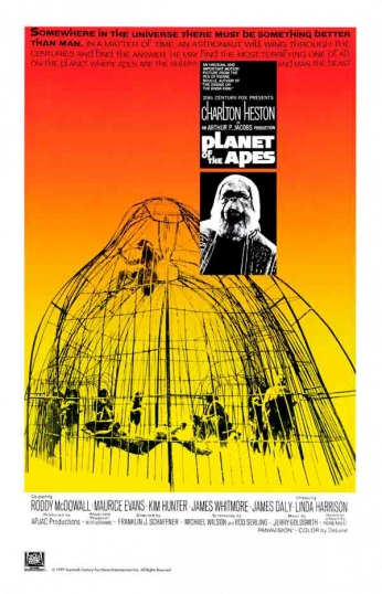 Filme: Planet of the Apes (O Planeta dos Macacos, 1968).