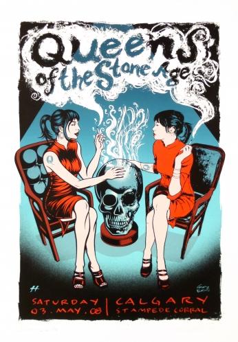 Queens of the Stone Age QOTSA Calgary Girls.