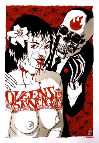 Queens of the Stone Age QOTSA Skull.