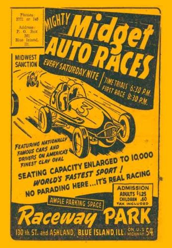 Pôster Raceway Park - 1948