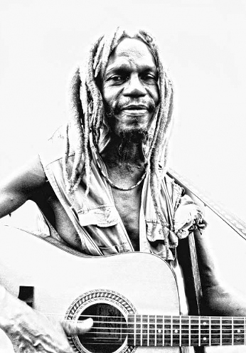 Rasta Guitar Player