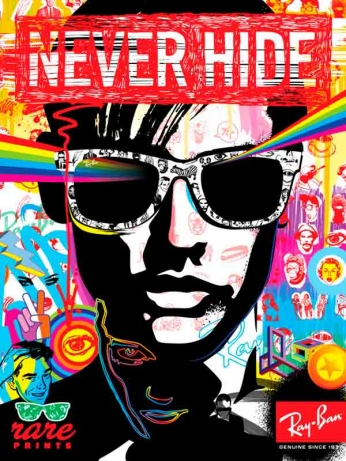Ray Ban - Never Hide - Golden Years