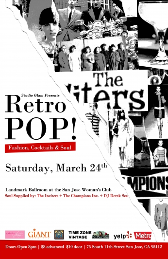 Retro POP Fashion Show and Art Showcase