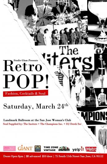Retro POP Fashion Show and Art Showcase