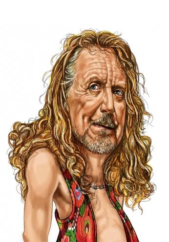 Robert Plant - Cartoon