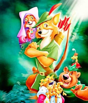 Robin Hood - Art Poster