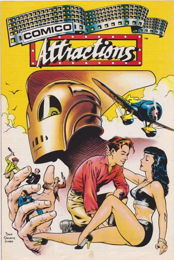 Rocketeer - Comico Attractions