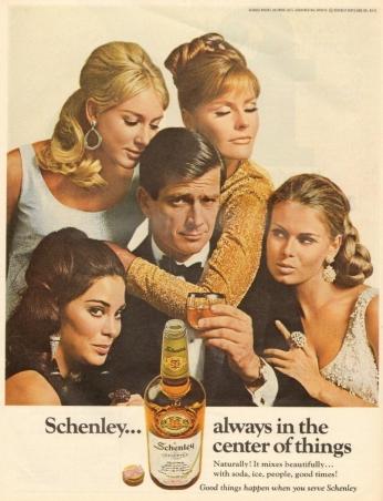 Poster Schenley, November 1967.