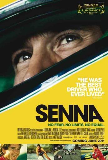 Senna - No Fear. No Limits. No Equal.